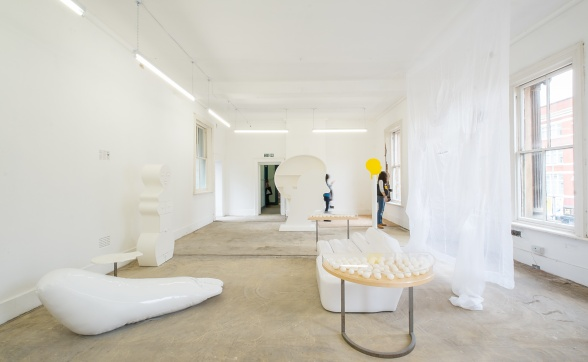 Atmosphere in White - Liverpool Biennial (installation view)