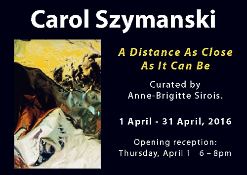 Carol Szymanski - a distance as close it can be
