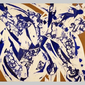 Lee Krasner from   Abstraction Revisited at CAM